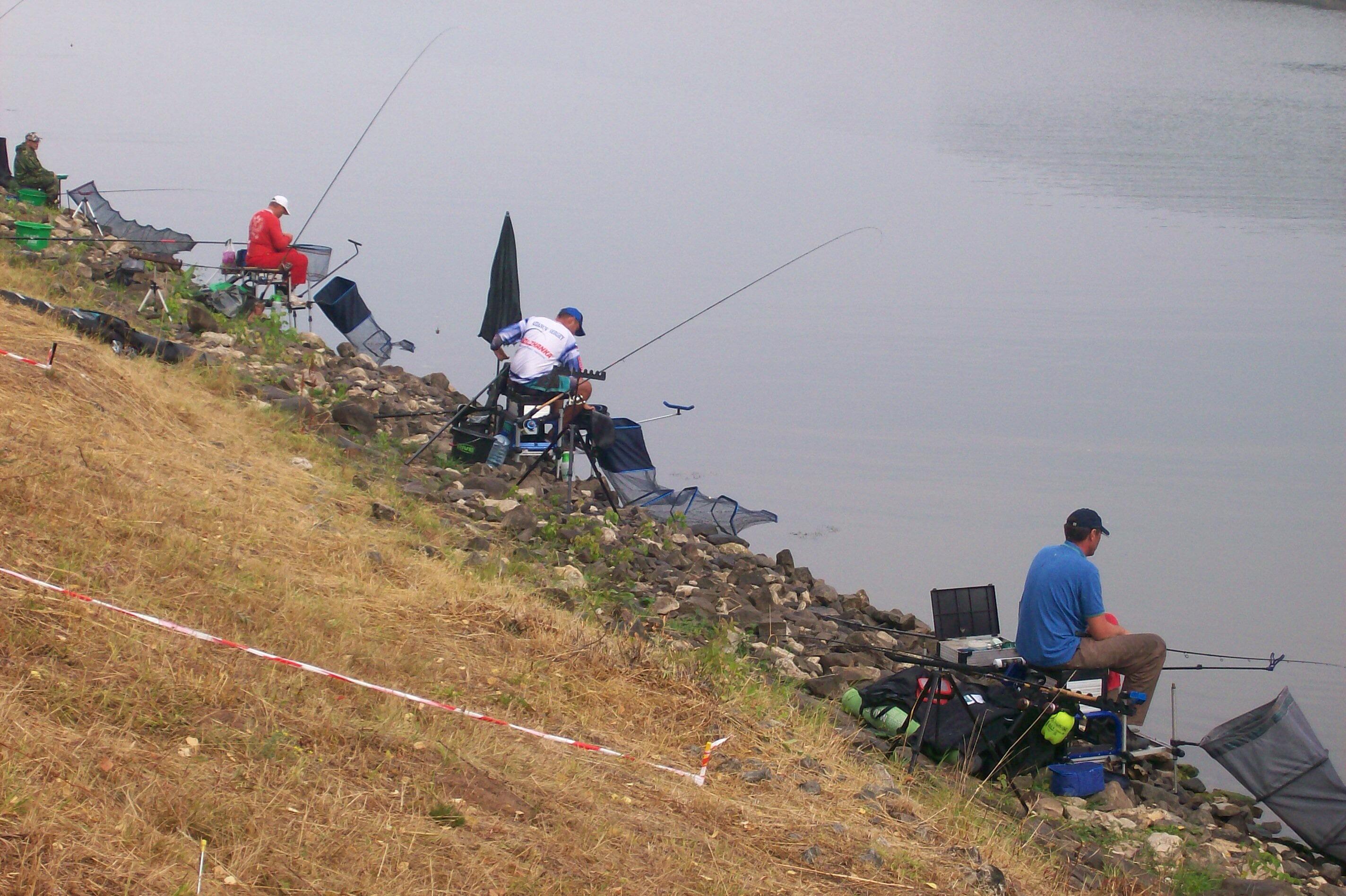 Feederfishing.tv Чемпионат России 2014 по фидеру 2-й тур смог