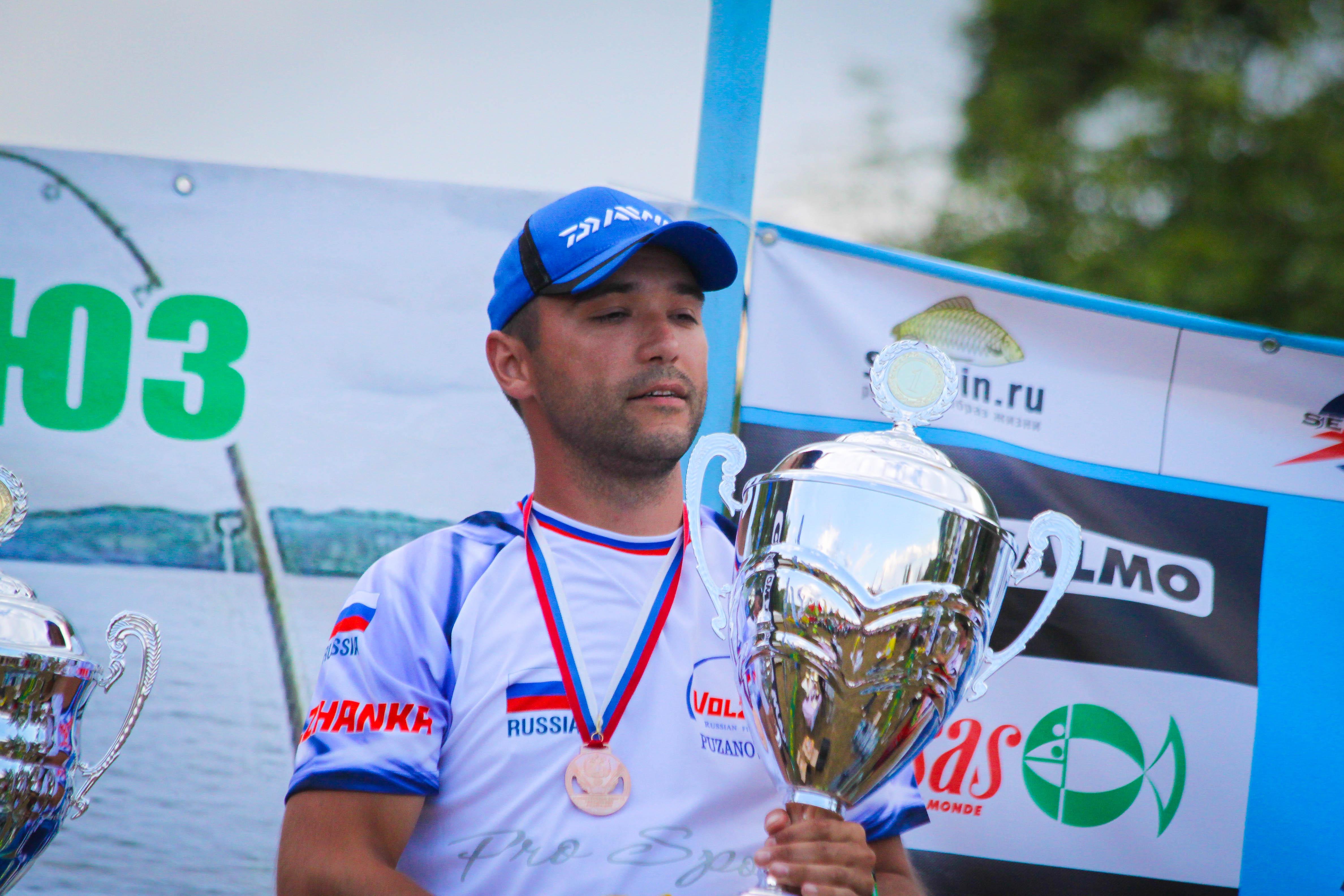 Feederfishing.tv Чемпионат России 2014 по фидеру Чемпион России Пузанов Сергей