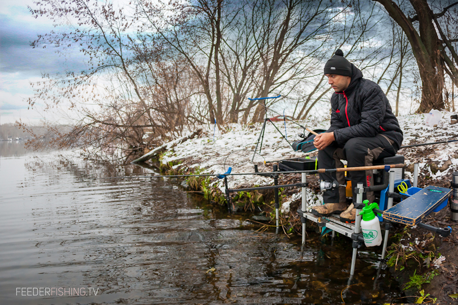 Feederfishing.tv winter norfin drennna