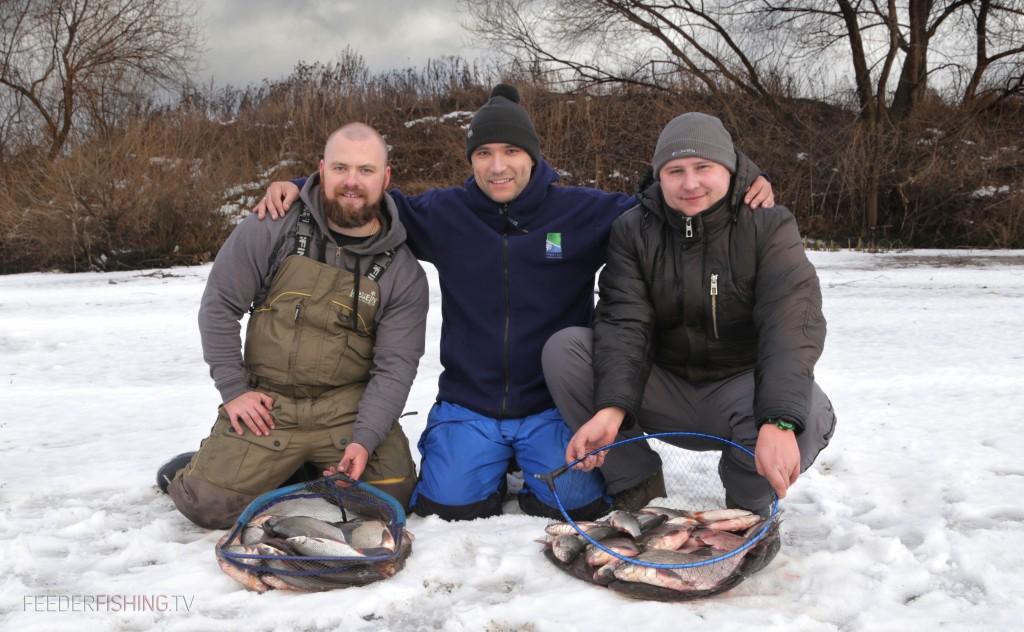 Состоялась первая фидерная рыбалка сезона 2015 на Москва реке.