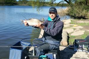 Отчет о весенней рыбалке леща на Москва реке с летним уровнем воды.