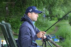 Ловля фидером на верхней Москва реке в начале лета