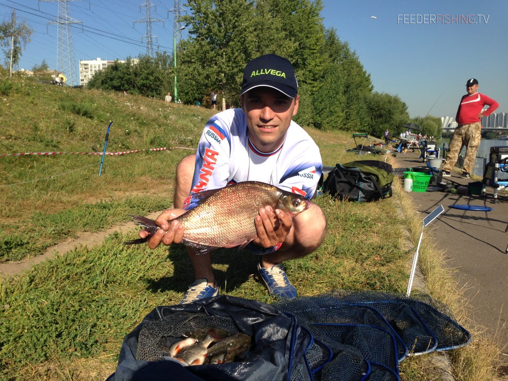 Feederfishing.tv Allvega cup Moscow 2015 15