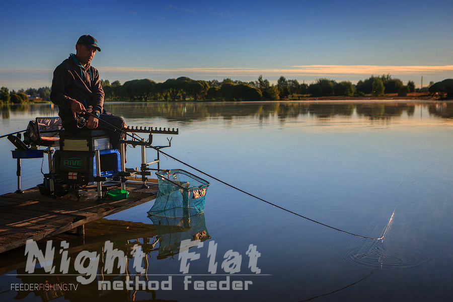 Feederfishing.tv Night flat method drennan 13