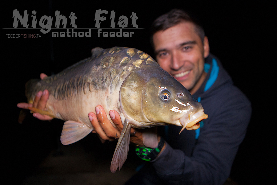 Feederfishing.tv Night flat method drennan 9
