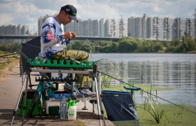 Кубок Москвы 2015 по ловле рыбы донной удочкой (фидер)