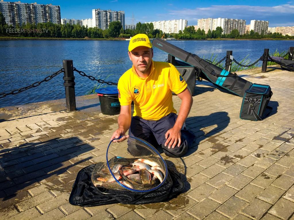 Feederfishing.tv feeder fishing rive ebisu66 sportfishing