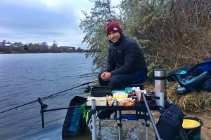 Отчет с Москва реки о ловле рыбы донной удочкой в зимний период на реках.
