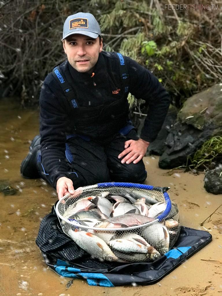 norfin feederfishing.tv fishing bream river