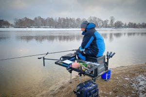 Отчет о поисках рыбы на Нижней Москва реке после спуска воды до зимнего уровня.