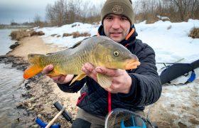Отчет с двухдневной рыбалки на озере Удомля.